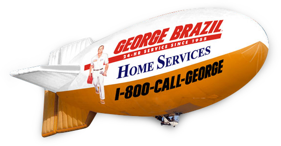 George Brazil Home Services Airship